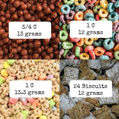 Sugary Cereals edit